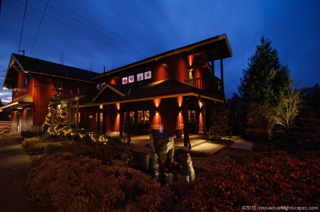 Commercial outdoor lighting industrial lighting service portland or