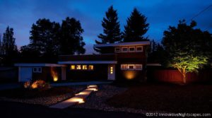 Residential Lighting Adds Drama to Your Yard