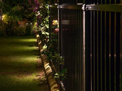 Maui Home Fence Lighting